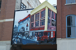 Entering the Eras, The Cedar Rapids Mural Trail