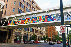 Five Seasons, Murals & More, The Cedar Rapids Mural Trail